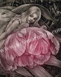 高田美苗の版画「FAIRY3」