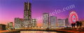 矢道瞬の版画「CityⅡ」、版画の通販専門店アート・マルメロ