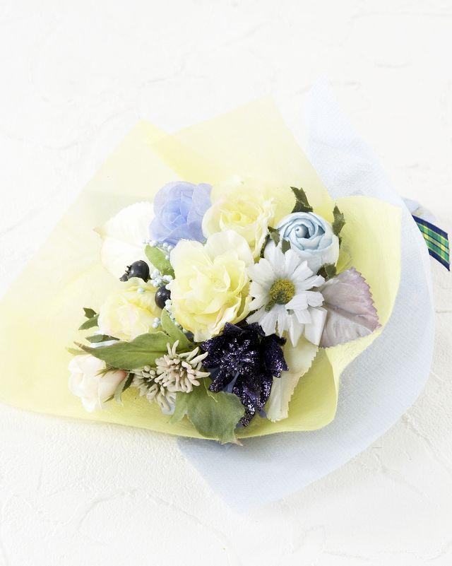 【造花ミニ花束】手のひらブーケ52