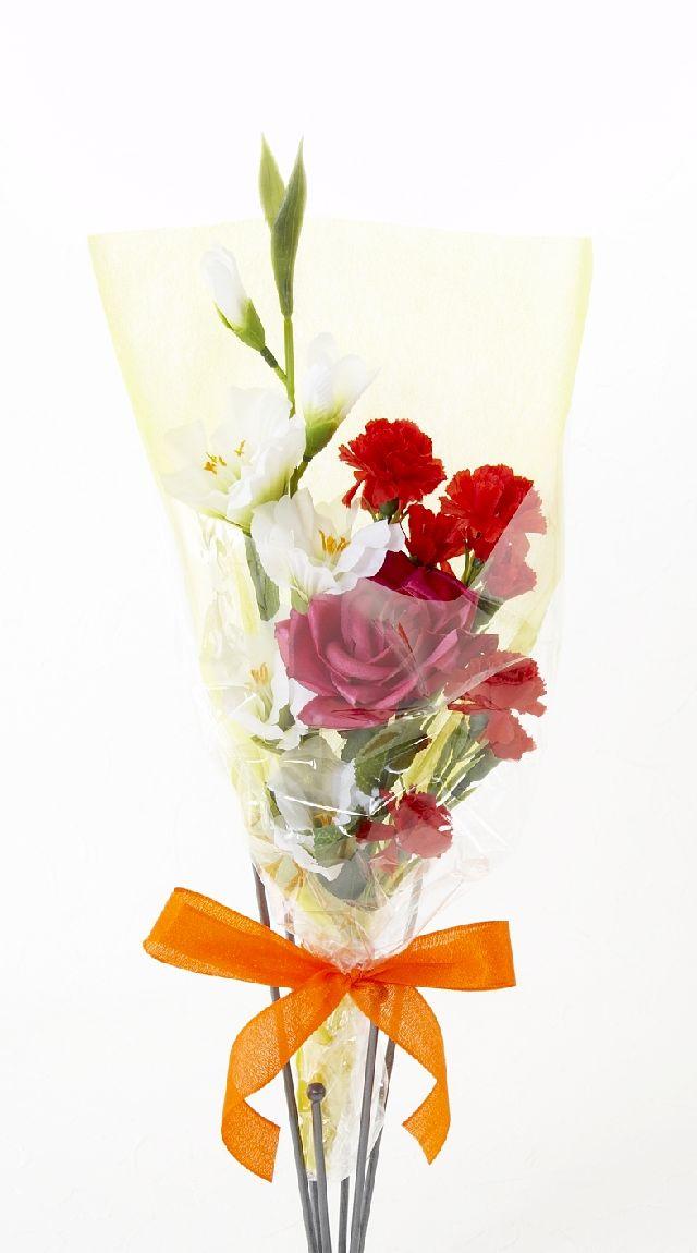 【造花・アーティフィシャルフラワー花束】light bouquet -K
