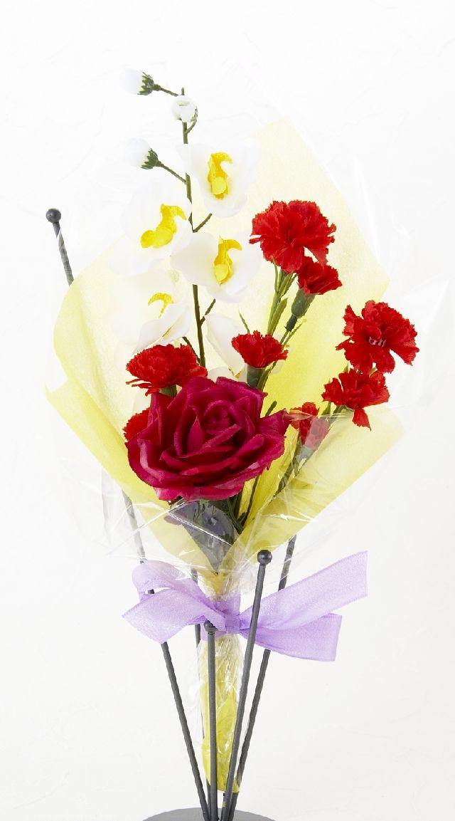 【造花・アーティフィシャルフラワー花束】light bouquet -12