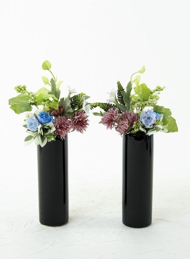 【造花 お仏壇向け ミニミニ供花】リトルプチ仏花C