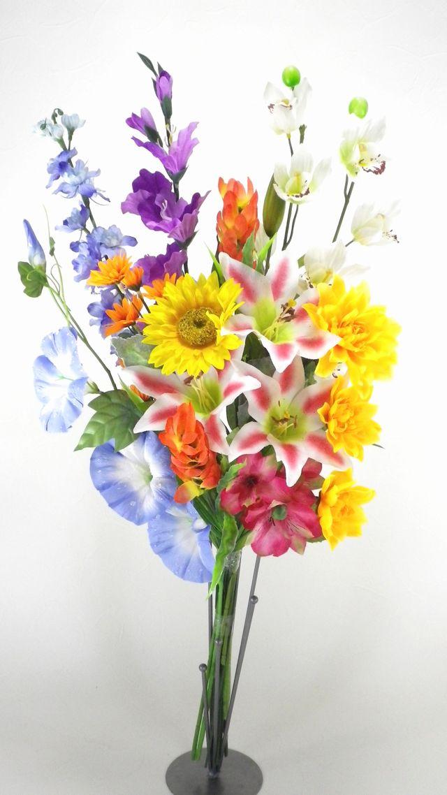【造花供花】夏の造花の仏花G(1束)