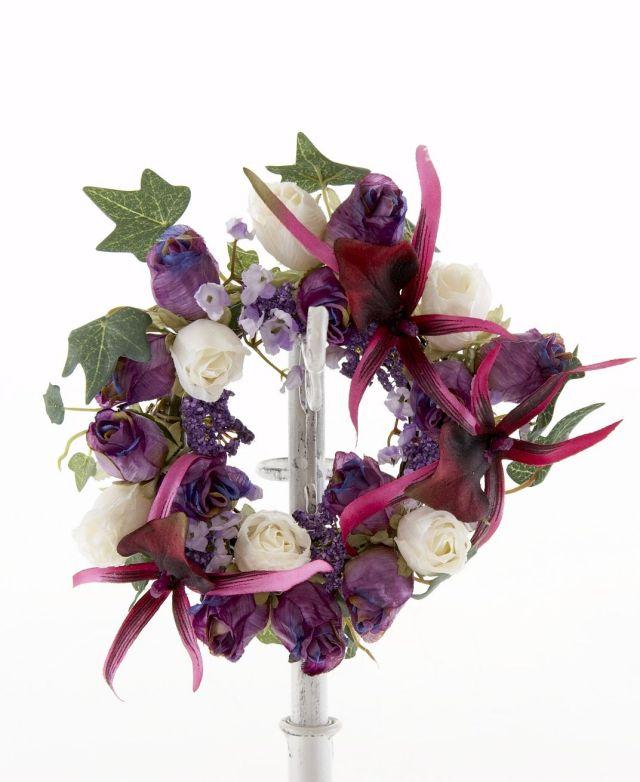 【造花オリジナルミニリース】ロマーヌ