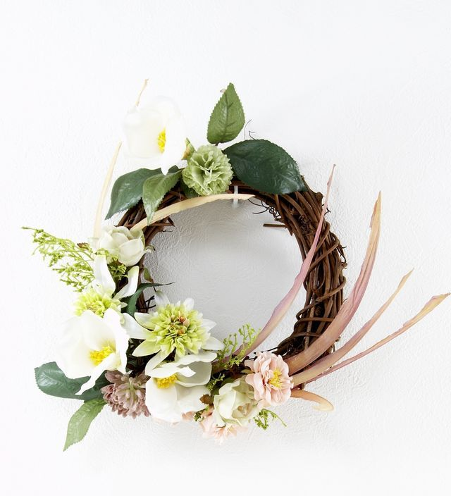 【造花オリジナルリース】カイリー