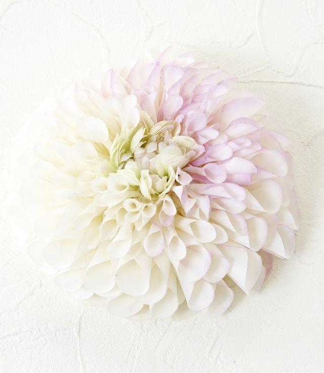 【コサージュ&髪飾り・2WAYタイプ】グレースダリア/ライトパープル