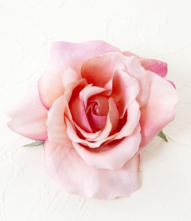 【コサージュ&髪飾り・2WAYタイプ】カクテルローズ/ピンク
