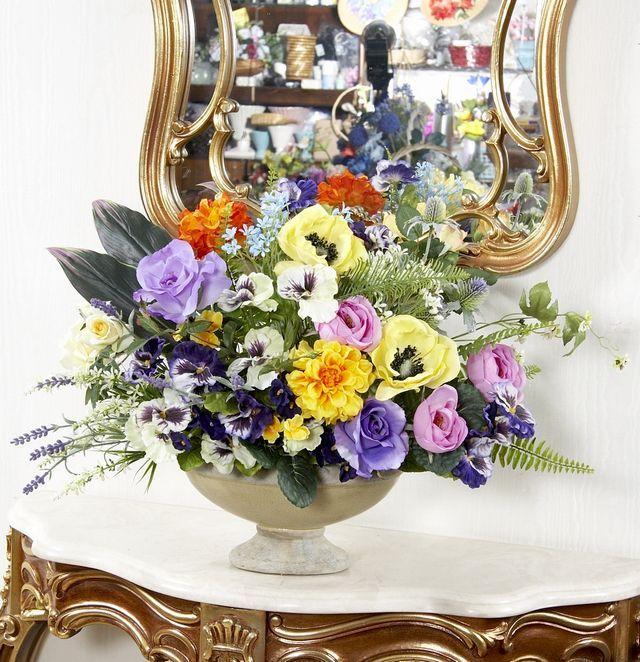 【造花・アートフラワー/プレミアムアレンジメント】アンジュ