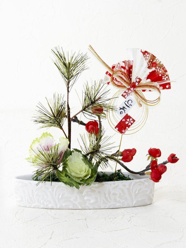 【造花・アートフラワーアレンジメント】エーリカ