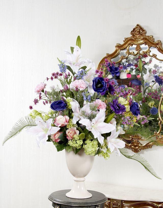 【プレミアムアレンジメント/造花・アートフラワー】アフェクシオン