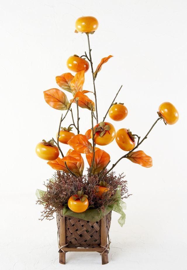【造花・和モダン・和風アレンジメント】 草紅葉-kusamomiji