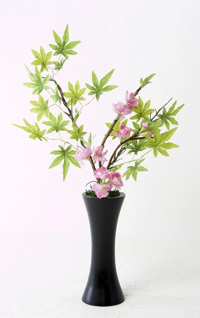 【造花・和モダン・和風アレンジメント】春隣-harudonari