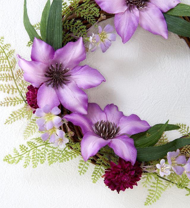 【造花 アーティフィシャルフラワー・オリジナルリース】セルマ