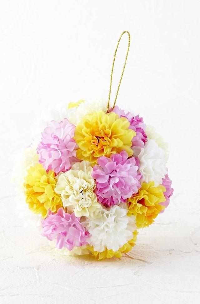 【フラワーボール・造花インテリア】ミニ・マムボール