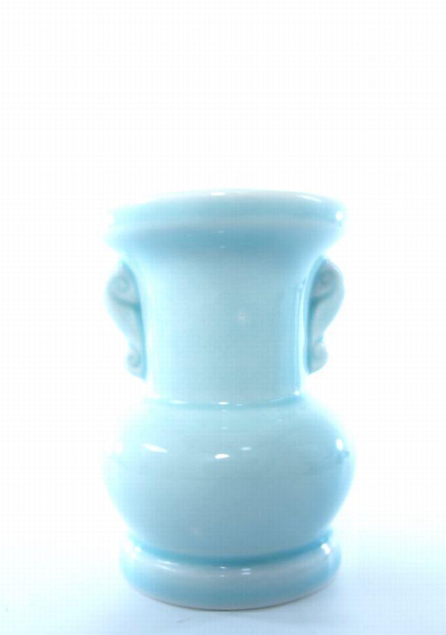 ミニ仏花用花器(ライトブルー)