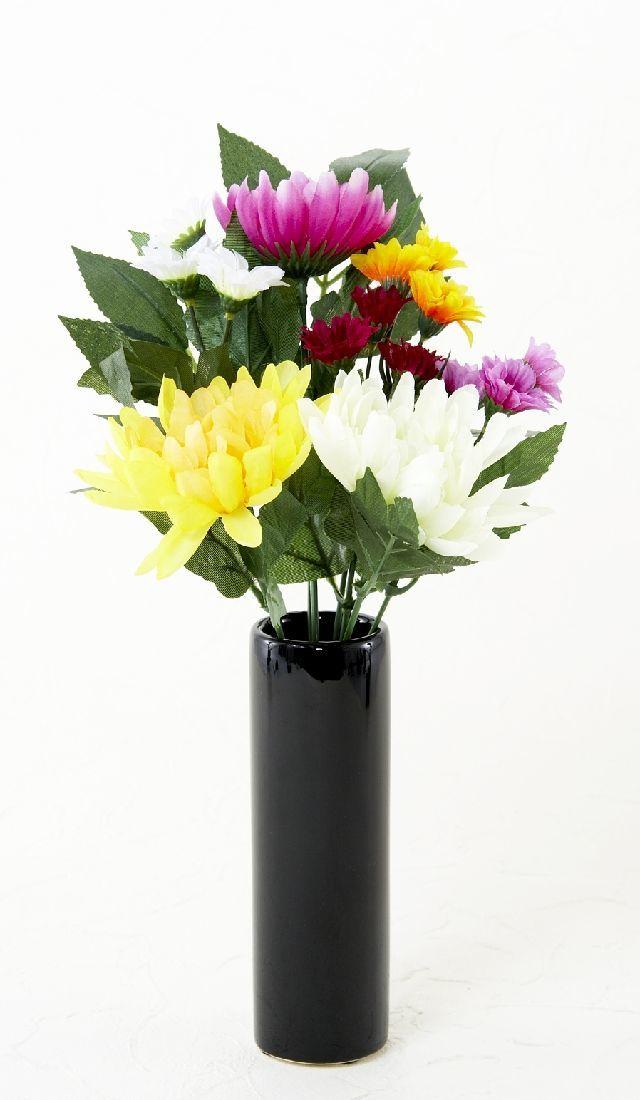 【墓前・仏前 造花仏花供花】メモリアル仏花A-1束(ブッシュタイプ)