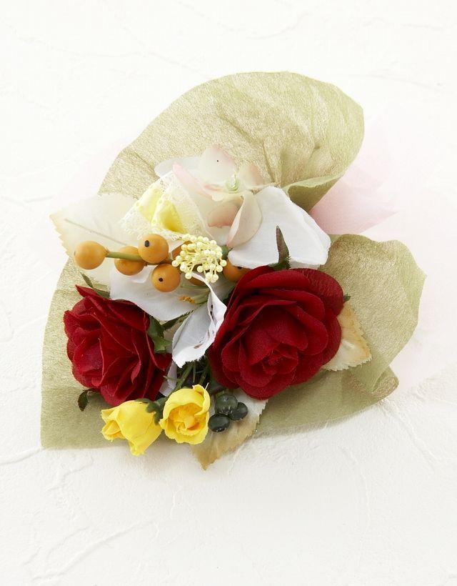 【造花ミニ花束】手のひらブーケ47