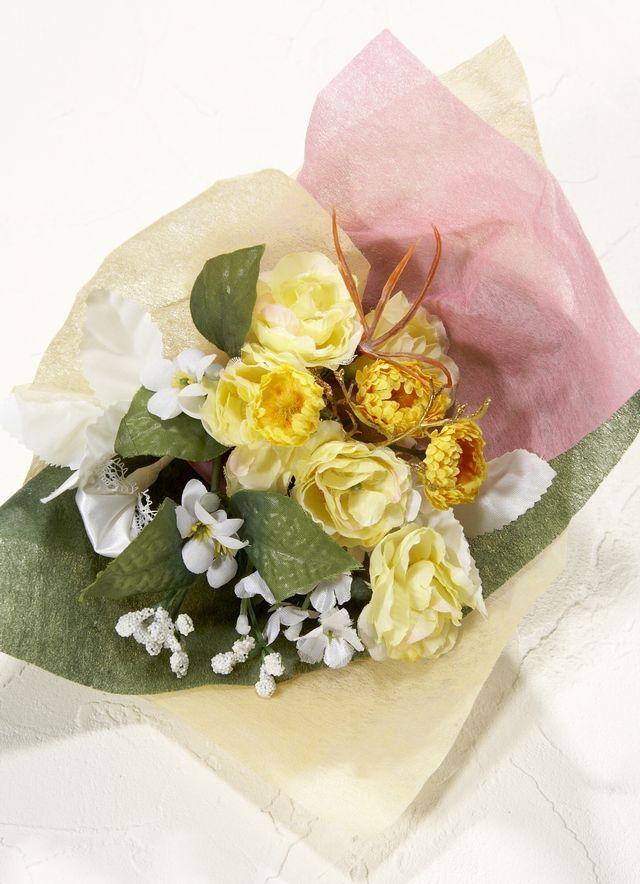 【造花ミニ花束】手のひらブーケ81