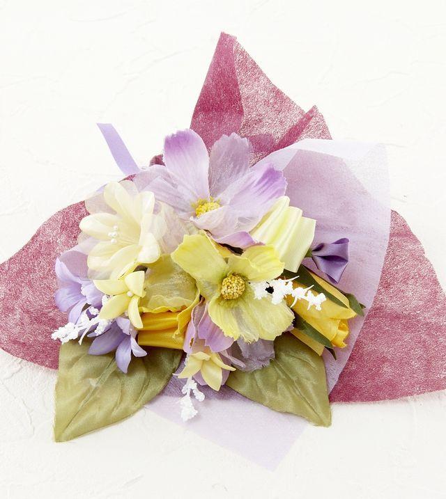 【造花ミニ花束】手のひらブーケ191