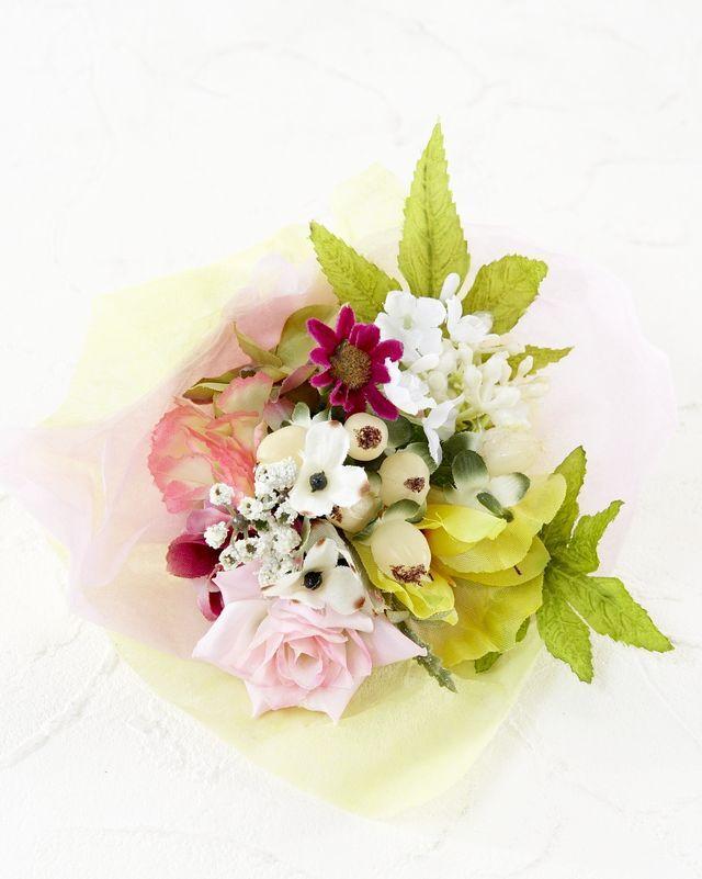 【造花ミニ花束】手のひらブーケ44