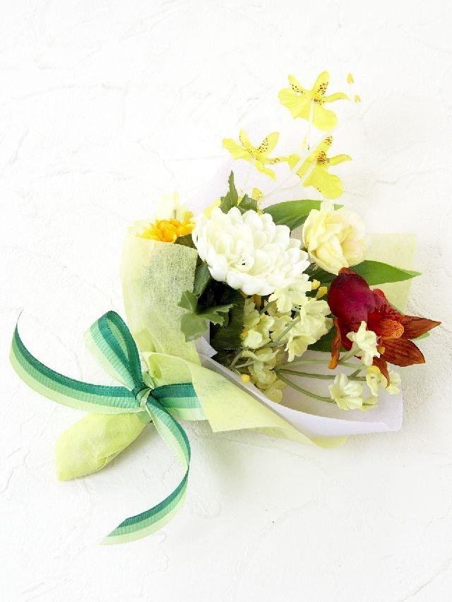 【造花ミニ花束】手のひらブーケ49