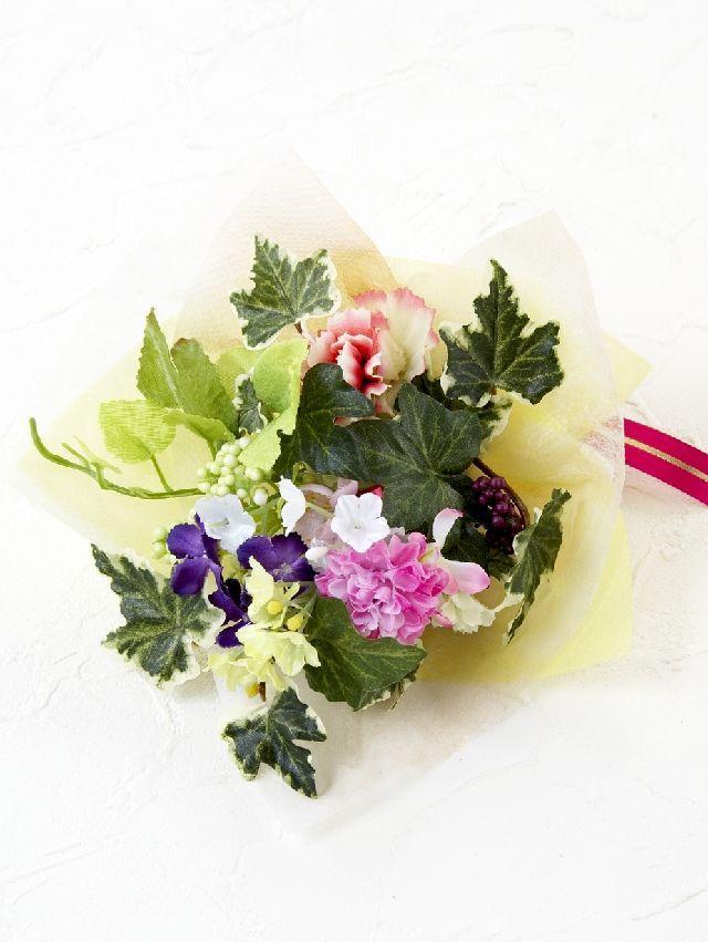 【造花ミニ花束】手のひらブーケ50