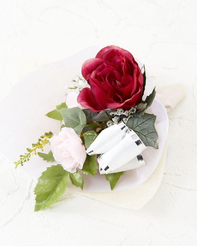 【造花ミニ花束】手のひらブーケ55