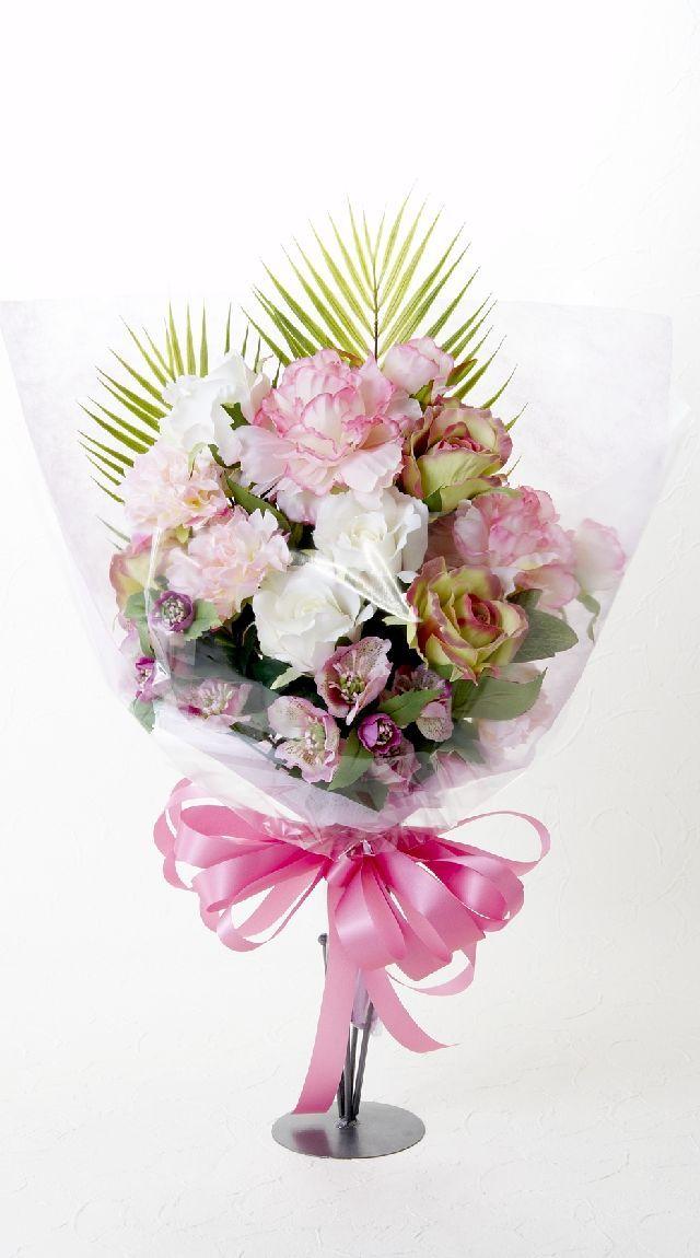 【贈答・贈呈用・ギフトの造花花束】スイートキャンディー・ブーケ