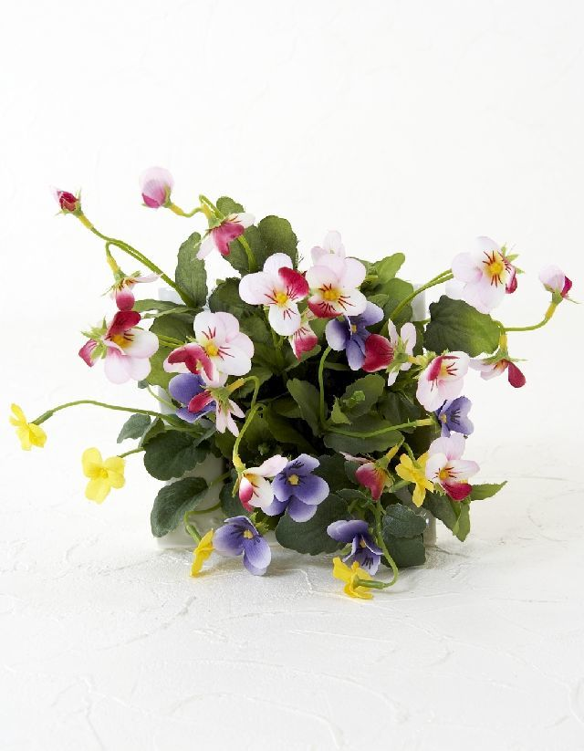 【造花・ナチュラルグリーン・多肉植物・】wild grass arrangement -F