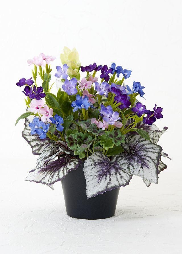 【造花・ナチュラルフラワーアレンジメント】small flower arrangement