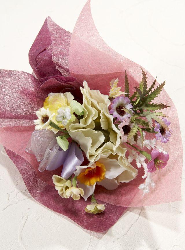 【造花ミニ花束】手のひらブーケ37