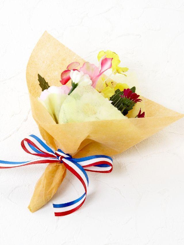【造花ミニ花束】手のひらブーケ5