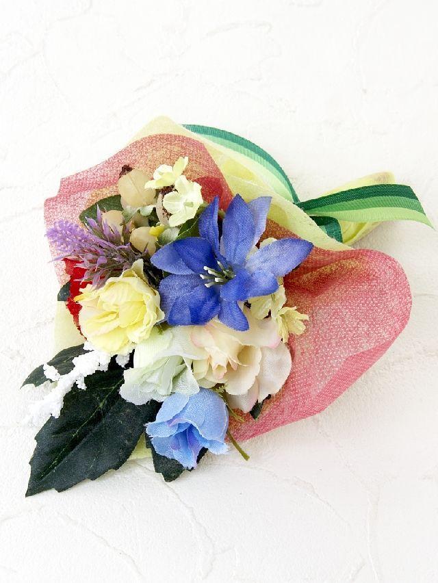 【造花ミニ花束】手のひらブーケ15
