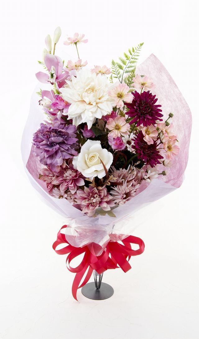 【造花 花束】イノセントブーケ