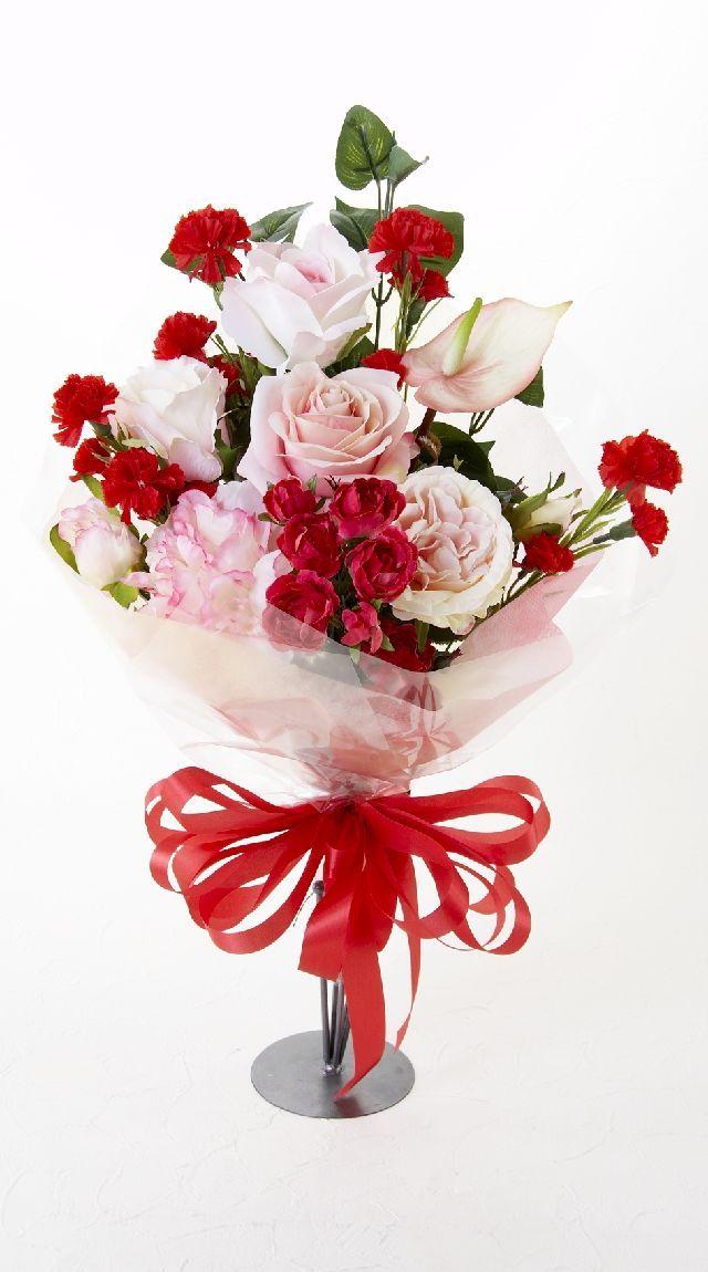 【贈答・贈呈用・ギフトの造花花束】ストロベリーソーダ・ブーケ