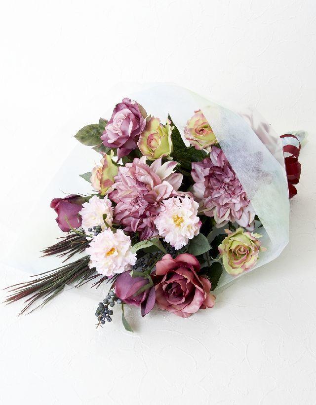 【贈答・贈呈用・ギフトの造花花束】オペラ・ブーケ