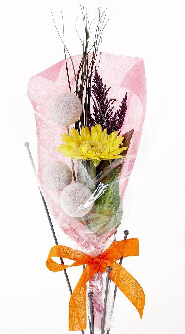 【造花・アーティフィシャルフラワー花束】light bouquet -5