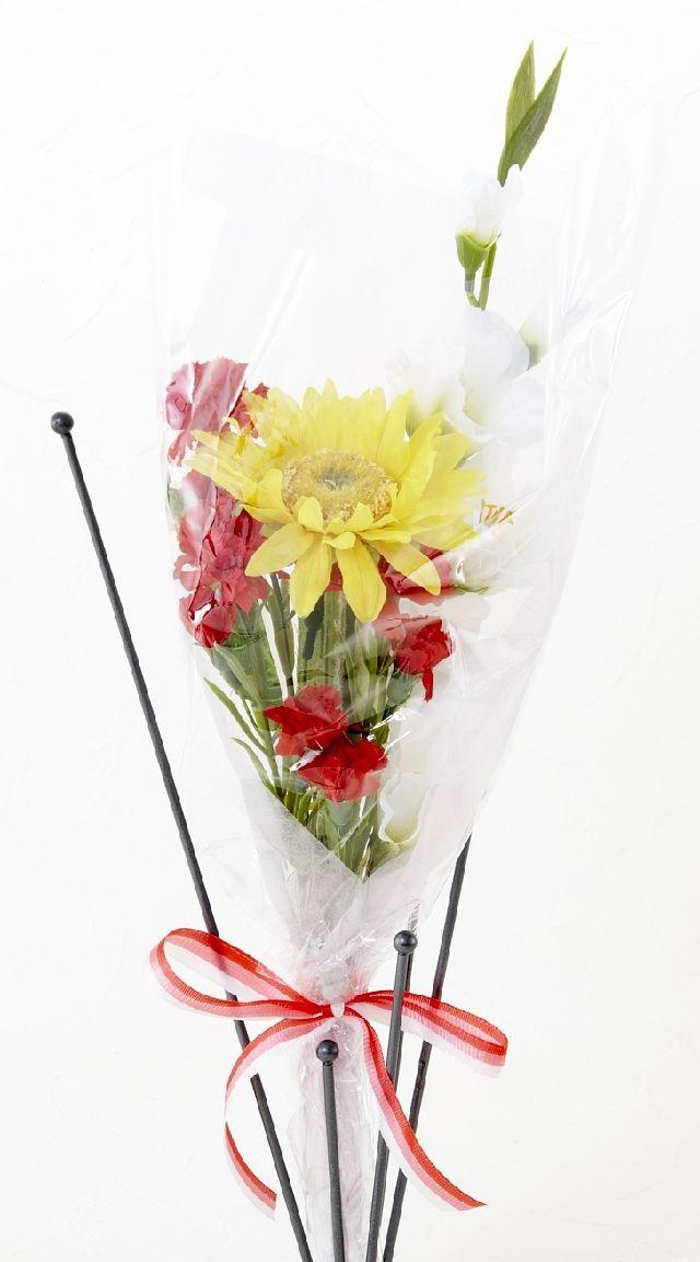 【造花・アーティフィシャルフラワー花束】light bouquet -14