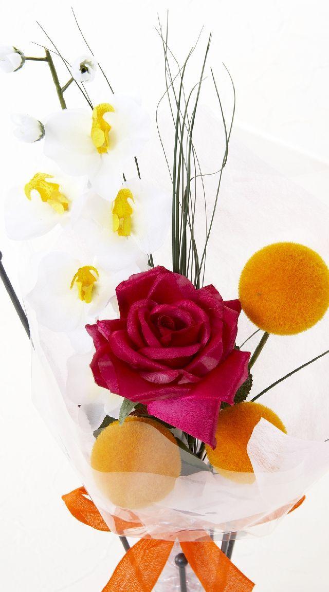 【造花・アーティフィシャルフラワー花束】light bouquet -20