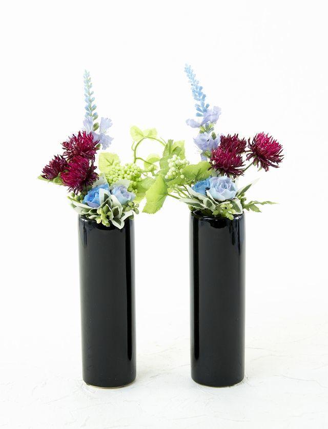 【造花 お仏壇向け ミニミニ供花】リトルプチ仏花B