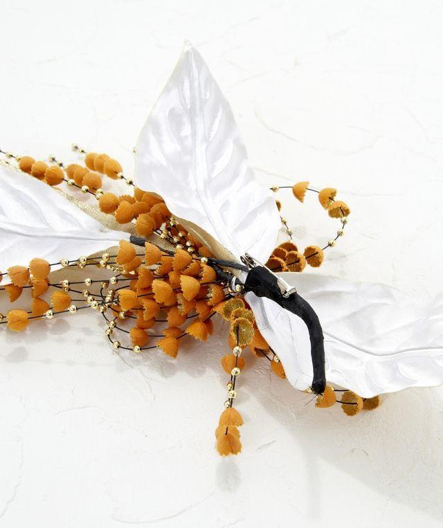 【特別価格SALE フォーマルコサージュ】ベルライン-オレンジ