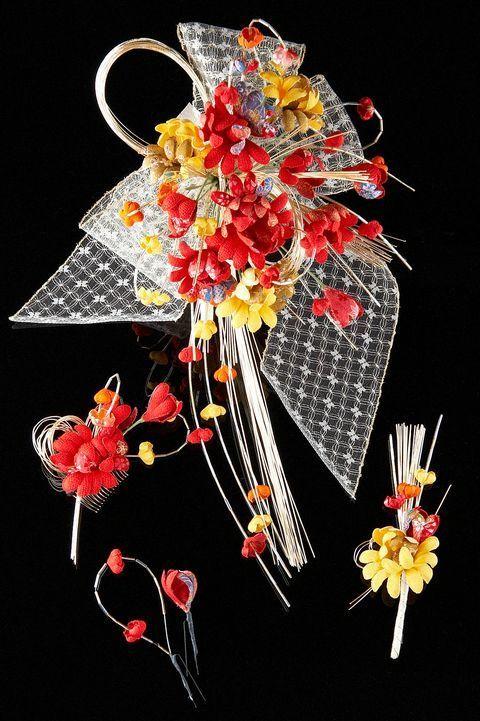 和装ブーケ&和装髪飾りセット(花雫)