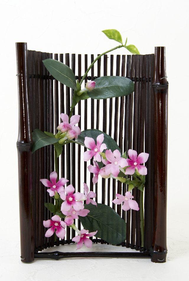 【造花・ジャパニーズモダンアレンジメント】和花和華-wakawaka
