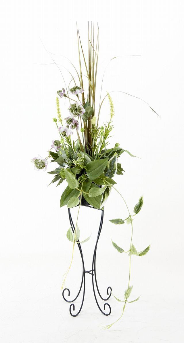 【造花デザインハンギングスタンドアレンジメント】心詩在-shinsiari