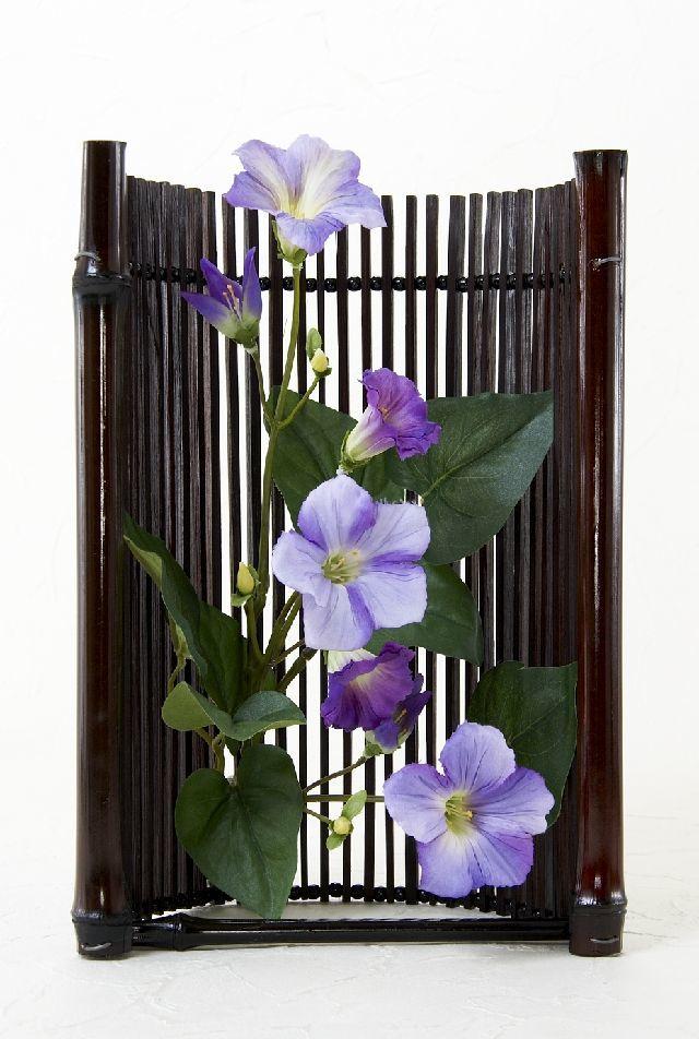【造花・ジャパニーズモダンアレンジメント】紫雲-shiun