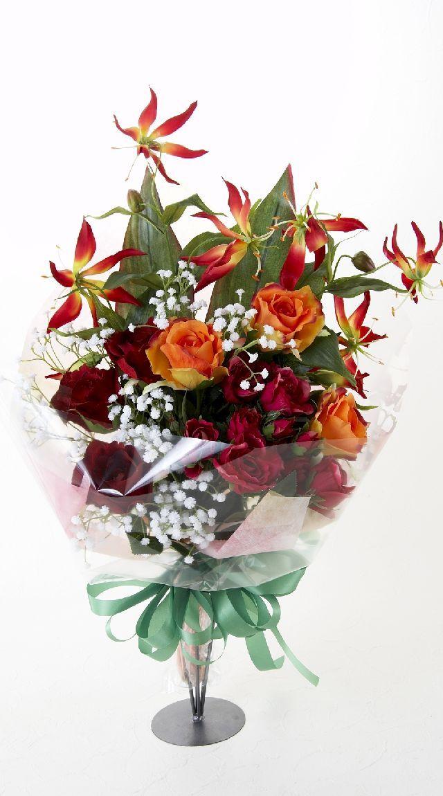 【贈答・贈呈用・ギフトの造花花束】マーヴェラスブーケ