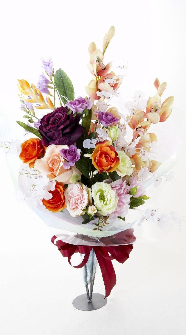 【贈答・贈呈用・ギフトの造花花束】エクセレント・ブーケ