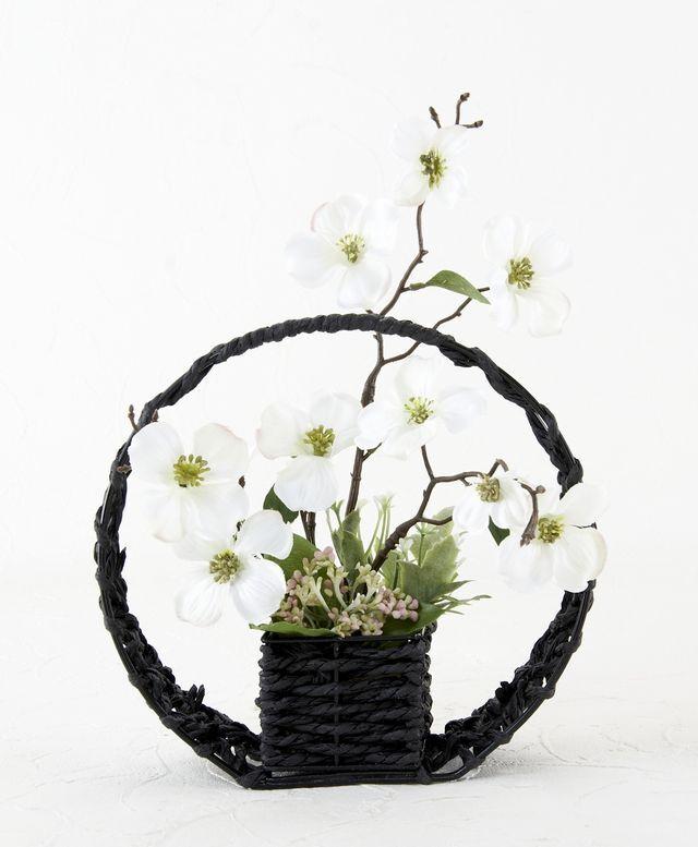 【造花インテリア】アイアンチェアー・エミリー