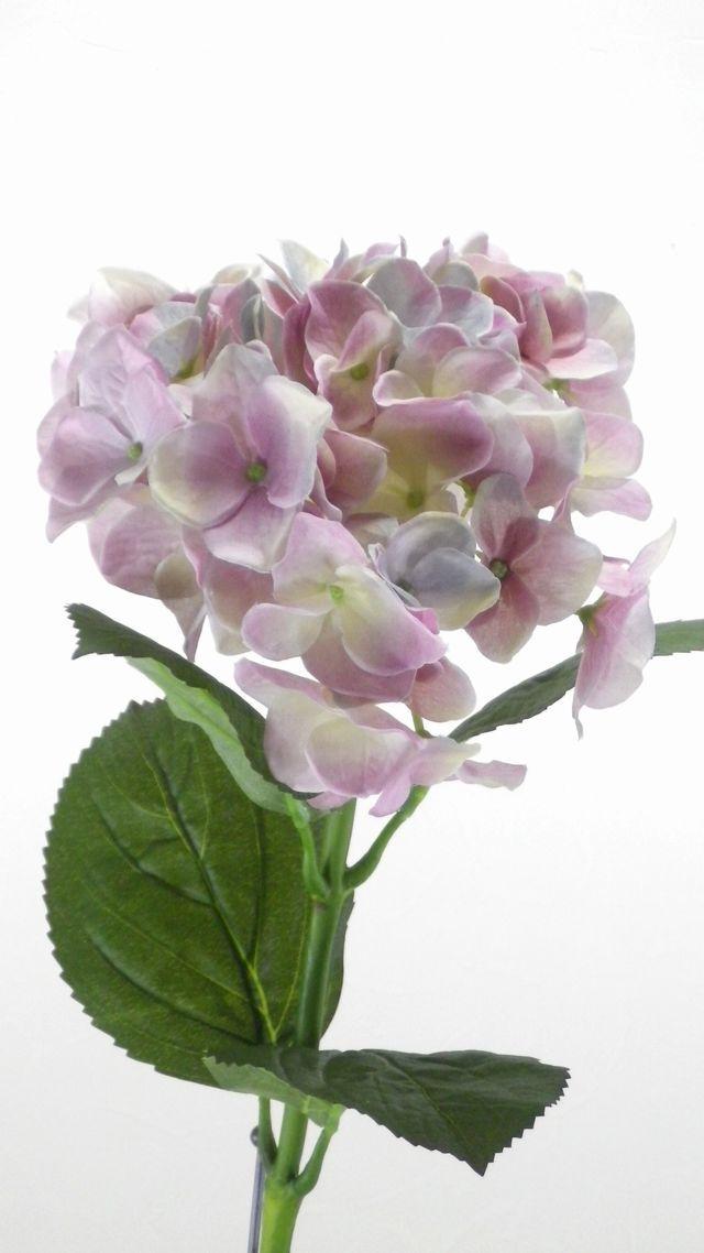 【造花・アートフラワー】紫陽花(ラベンダーパープル)