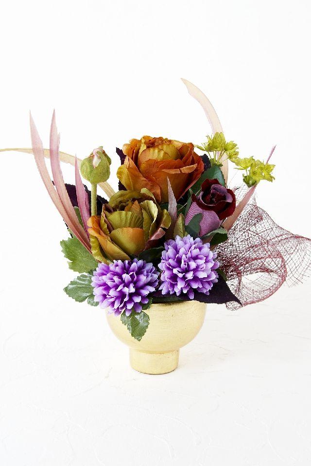 【造花・和モダン・和風アレンジメント】冥加-みょうが-